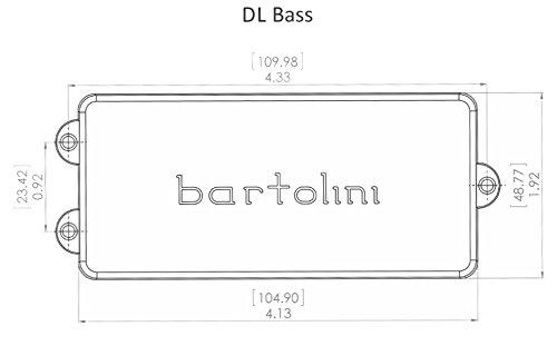 Bartolini DL5CBC Dimensions